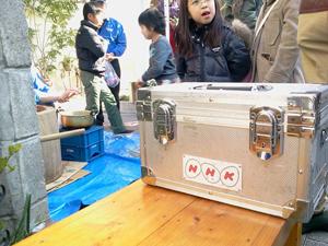 NHKの取材も来てくれました。