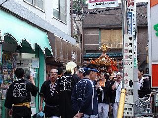 天沼八幡神社 宮神輿