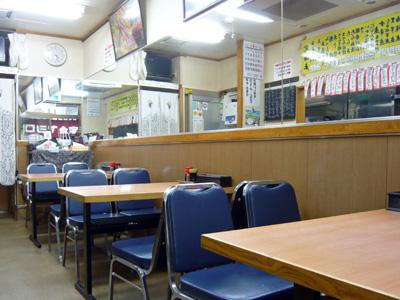 やしろ食堂の店内写真