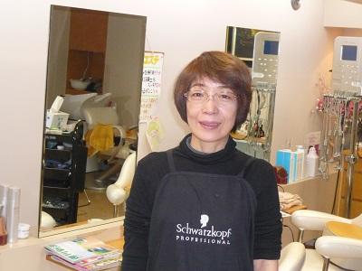 美容室 アニモのスタッフ写真