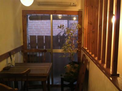ちゃぶ久cafeの店内写真
