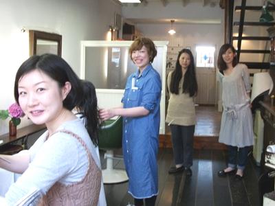 荻窪美粧のスタッフ写真