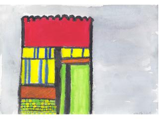 作者より:絵の具の色をきめる時がかなり時間がかかったけど、がんばって完成しました。
